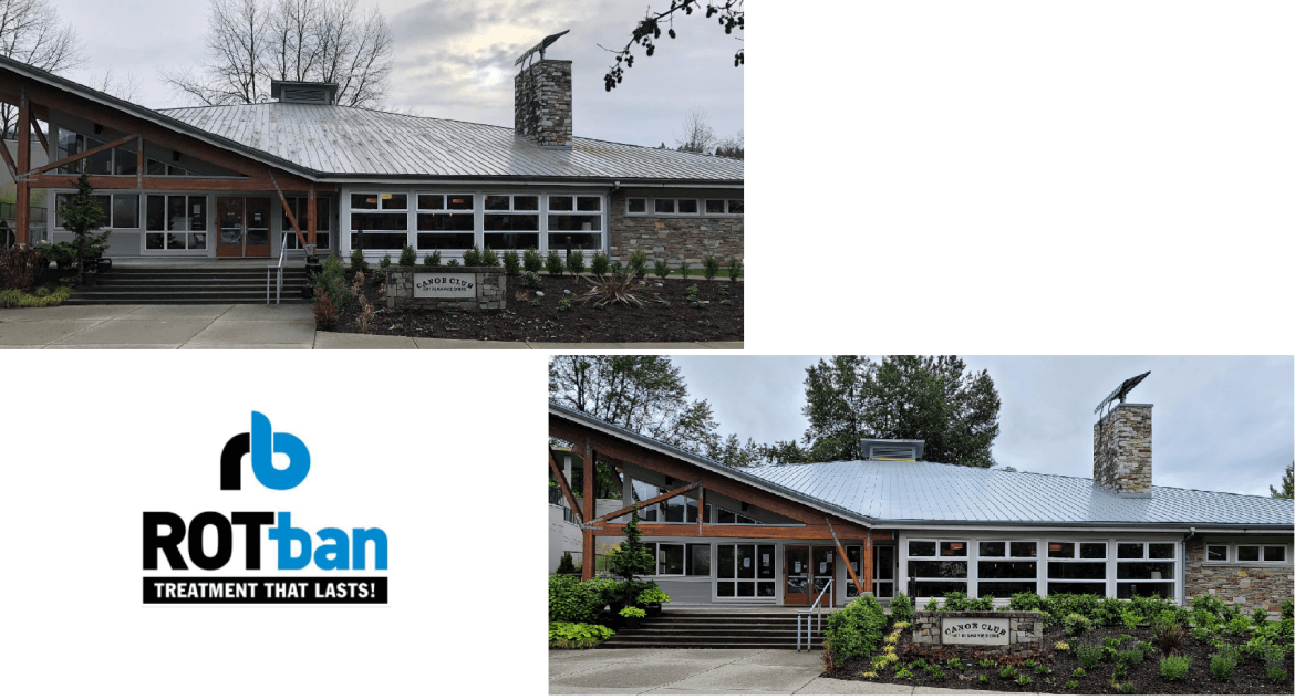 2 homes and the RotBan logo
